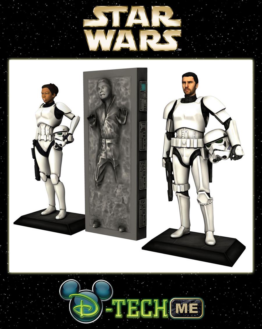 Disney World Star Wars Action Figures