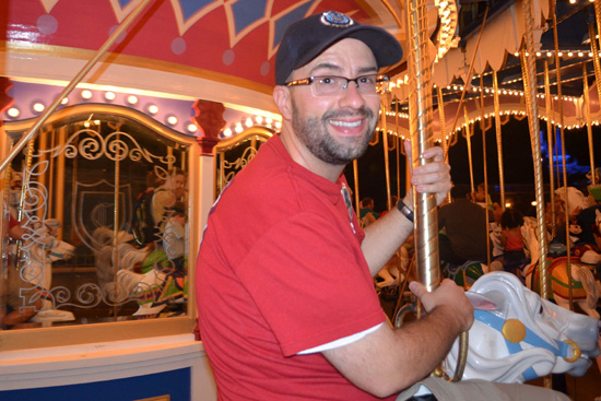 Disney Parks Blog Author Nate Rasmussen Enjoys Classic Fantasyland Attractions During the Monstrous 24-Hour 'All-Nighter' at Disney Parks