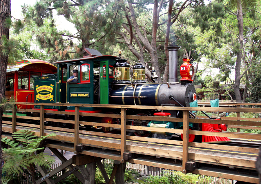 Meet the Steam Engines of the Disneyland Railroad: Fred Gurley