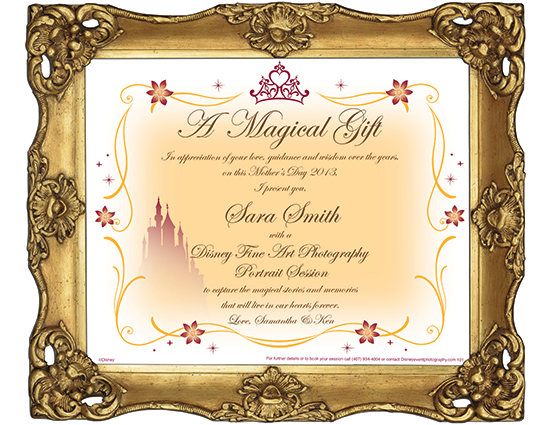 Book a Family Portrait Session with Disney Fine Art Photography & Video and Receive a Magical Mother's Day Gift Proclamation