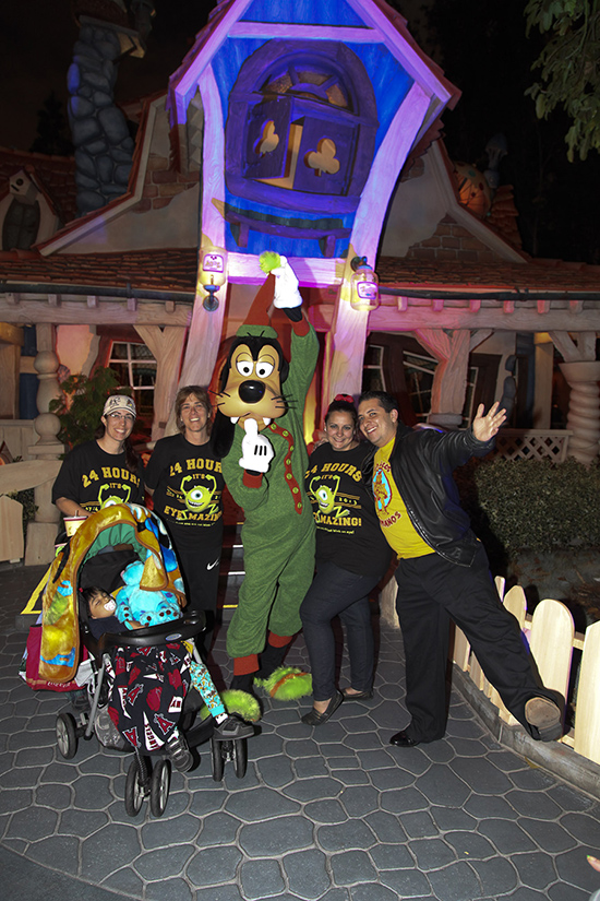 Disney Character Pajama Party in Mickey's Toontown at Disneyland Park