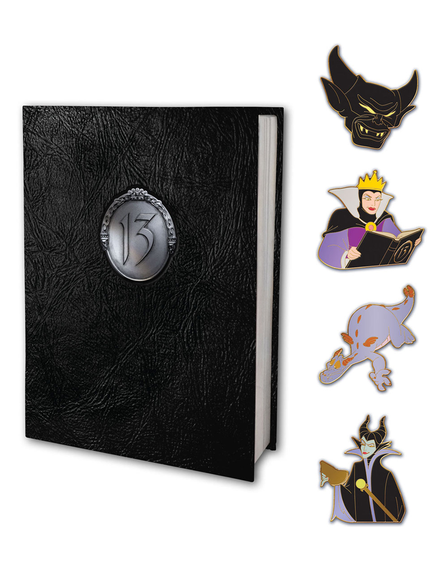 The Storybook Pin Set at This Year's 13-Reflections of Evil Trading Event at the Walt Disney World Resort