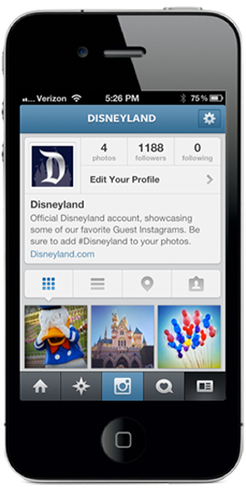 Disneyland Resort – 'Most Instagrammed' Location in U.S. – Now on Instagram