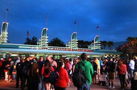 Guests Ready for the Monstrous Summer 'All-Nighter' at the Disneyland Resort