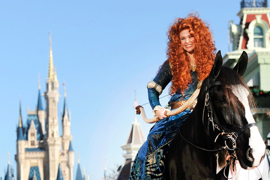 Special Limited Time Magic for Merida, Glow with the Show Ear Hats at Disney Parks