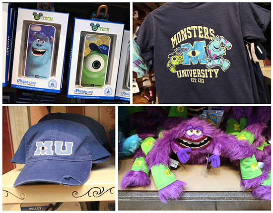 Three Cheers for 'Monsters University' Merchandise