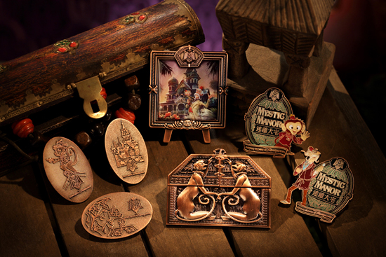 Limited-Edition Grand Opening Music Box Jumbo Pin at Mystic Point at Hong Kong Disneyland