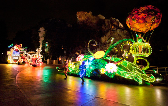 Main Street Electrical Parade at Magic Kingdom Park