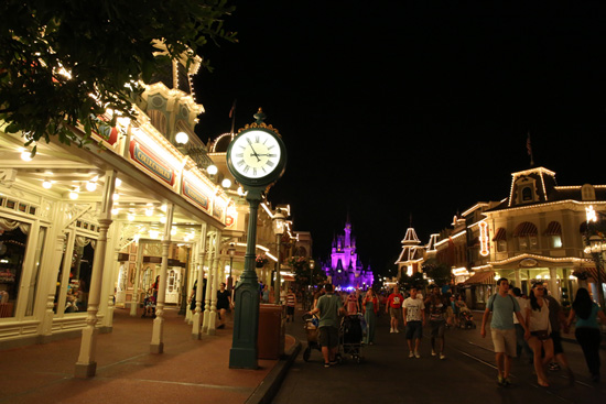 Magic Kingdom Park at 3 a.m.