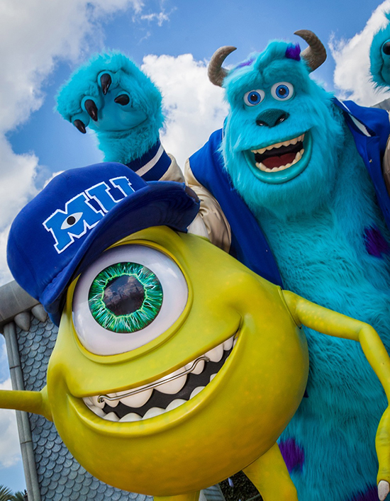 Mike and Sulley of Disney�Pixar's 'Monsters University' Will Join the Fun at Magic Kingdom Park During Disney Parks' Monstrous Summer All-Nighter