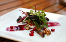 A Four-Course Dinner at the Golden Vine Winery in Disney California Adventure Park will Feature Salad with Caramelized Figs, Walnuts, Pomegranate and Fresh Goat Cheese