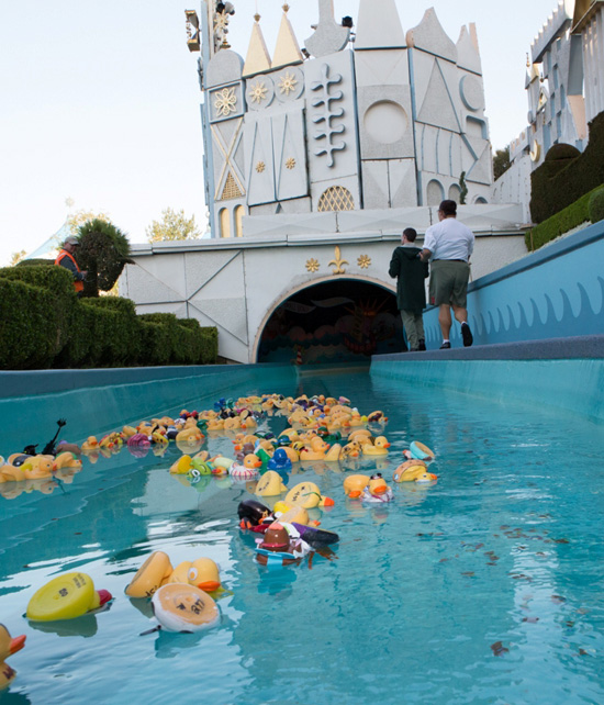 Rubber Duck Race Benefits Charity at the Disneyland Resort