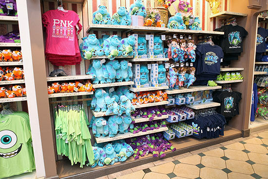 Three Cheers for 'Monsters University' Merchandise at Disney Parks