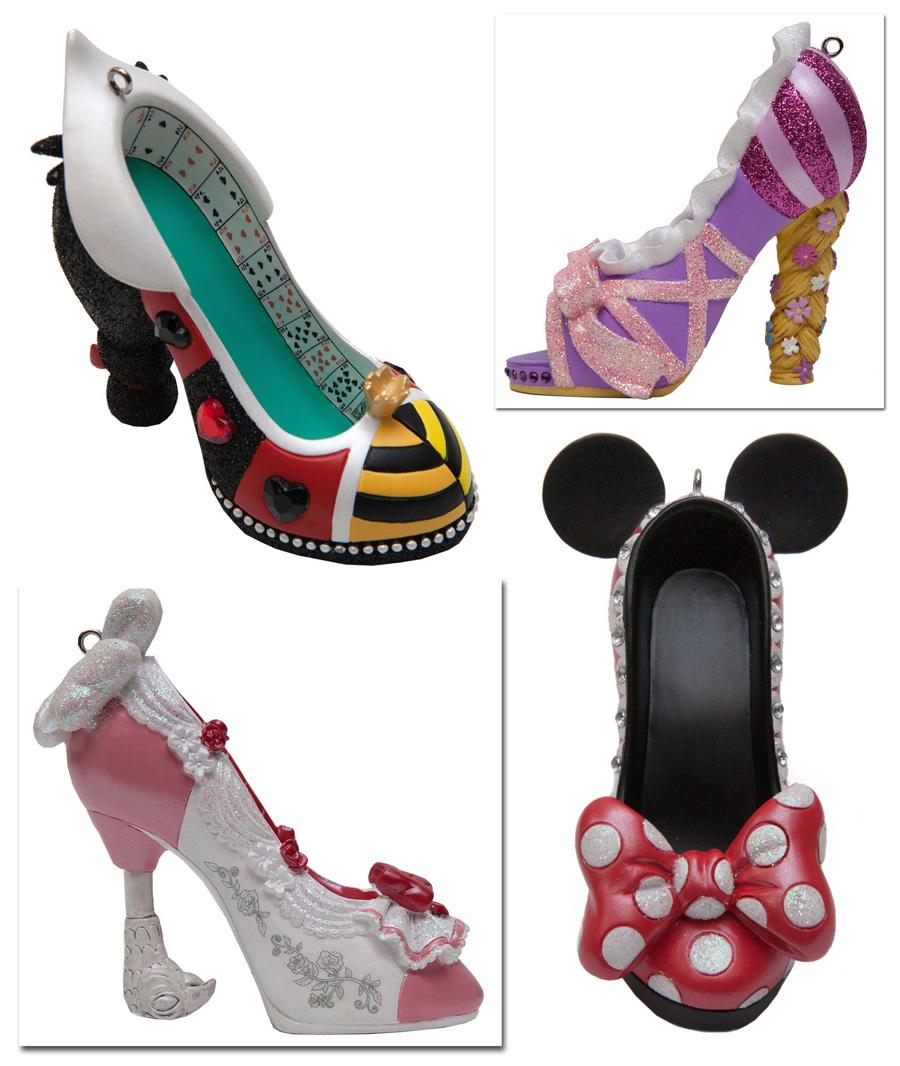 stylish shoe ornaments strutting into merchandise