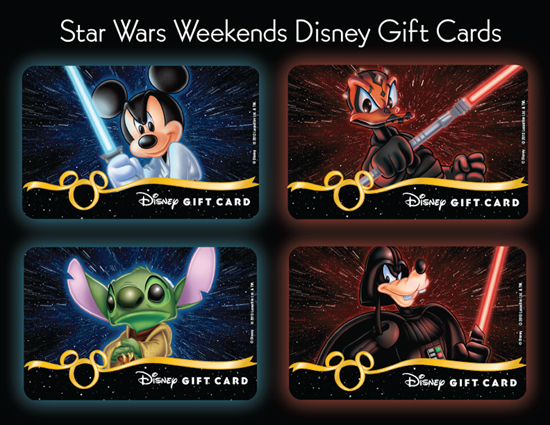 New Disney Gift Cards Available During Star Wars Weekends at Disneys Hollywood Studios