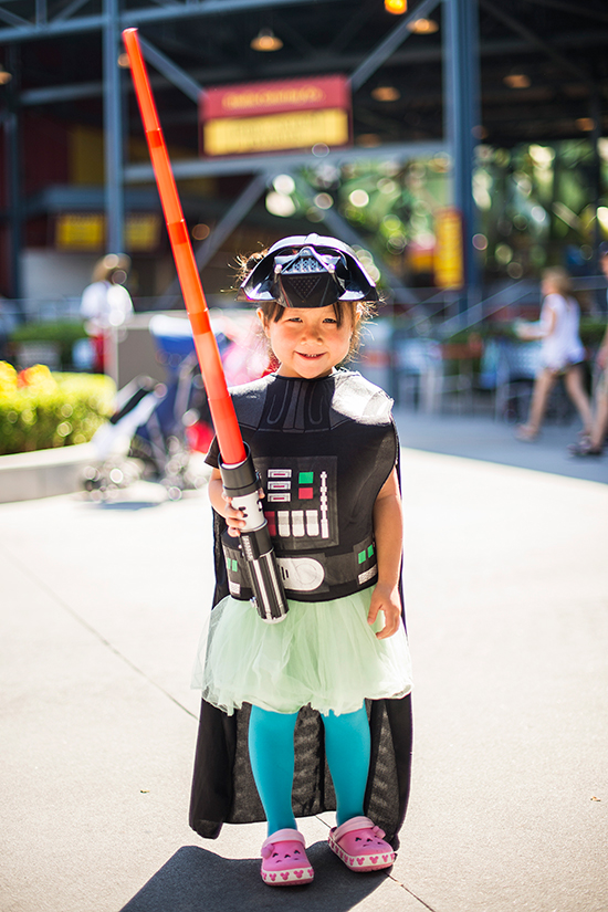 Best Star Wars Weekends Costumes at Disney's Hollywood Studios Including Darth Vader in a Green Tutu