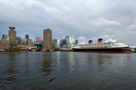 Greetings from Vancouver - Disney Cruise Line Kicks off Alaska Summer Season