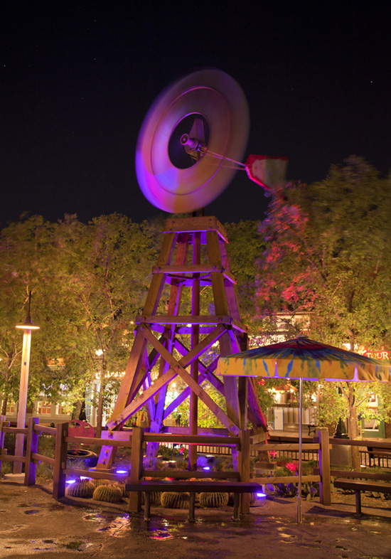 Disney Parks After Dark: A Windy Night at Disney California Adventure Park