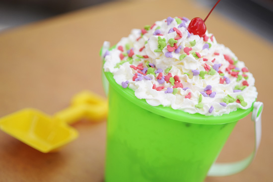 A Chilly Bucket of Deliciousness at Disney Water Parks