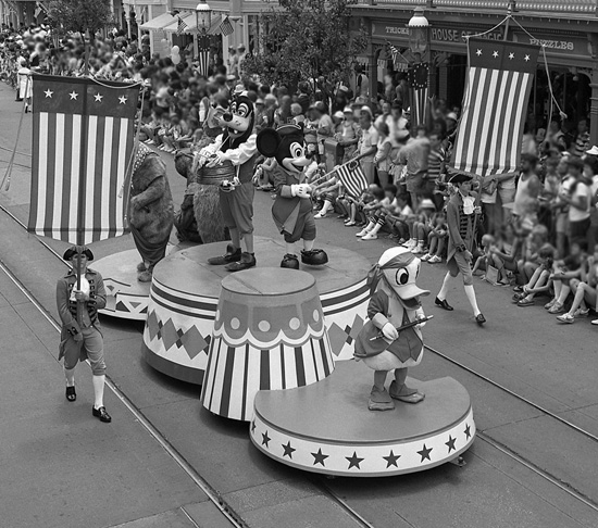 Vintage Walt Disney World: Fourth of July Flashback