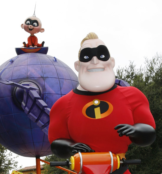Mr. Incredible to Appear During Limited Time Magic at Disney California Adventure Park