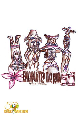 Walt Disney's Enchanted Tiki Room Wallpaper Winner