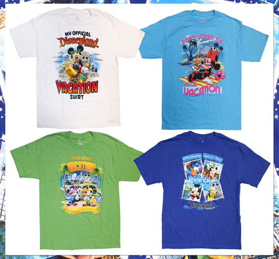 Celebrate Summer Vacation with New Attire from Disney Parks