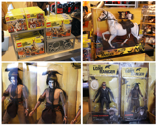 'The Lone Ranger' Merchandise Rides into Locations at Disney Parks