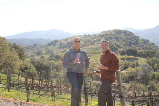 California Grill Chef Brian Piasecki and General Manager Michael Scheifler Visit Napa Valley and Sonoma Vineyards in Search of the Best of the Best for the Soon-to-Open California Grill