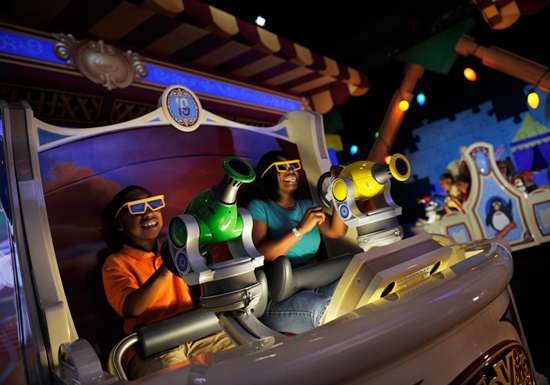Toy Story Midway Mania! at Disney California Adventure Park