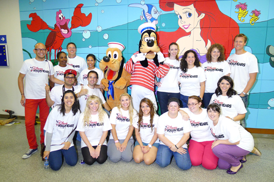 Disney Cruise Line Shares Magic in Barcelona Hospital