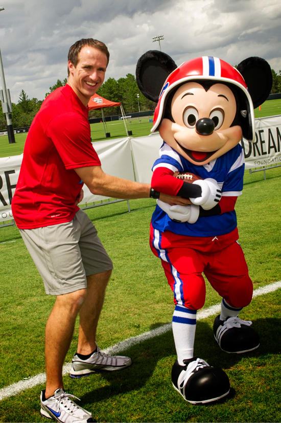 Drew Brees Passing Academy Kicks Off at ESPN Wide World Of Sports Complex