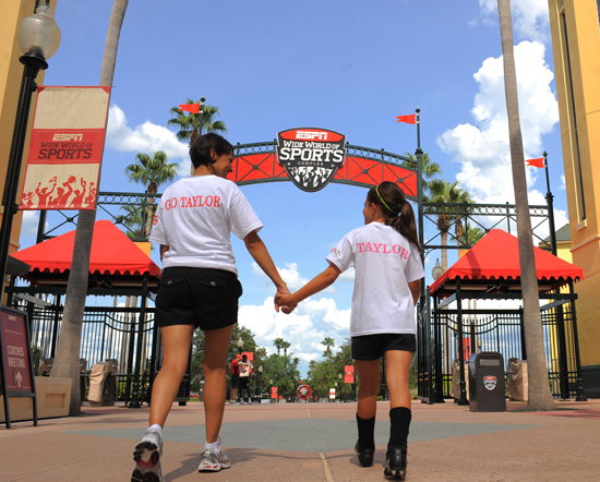 ESPN Wide World of Sports Complex Recently Developed an Innovative Solution-Oriented Program to Make Nationwide Youth Sports Travel Easier for Families