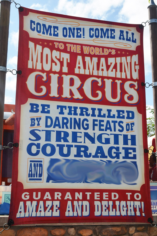 Finish That Disney Parks Sign: Come One, Come All to Storybook Circus at Magic Kingdom Park
