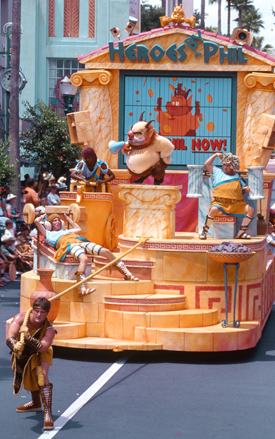 Hercules' trainer Phil at the Hercules - Zero to Hero Victory Parade at Disney's Hollywood Studios Back in 1997