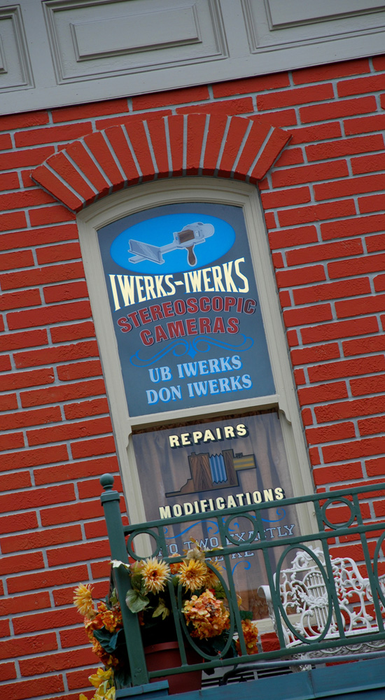 Iwerks-Iwerks 'Stereoscopic' Cameras on Main Street, U.S.A.