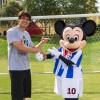 And in Other News, Soccer Star Kaka Stopped by the ESPN Wide World of Sports Complex