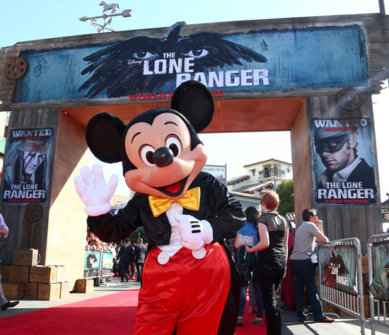 Stars Shine Bright at Disney California Adventure Park for World Premiere of Disney/Jerry Bruckheimer Films' 'The Lone Ranger'