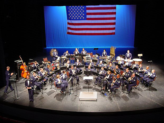 The Jazz Ensemble of the Air National Guard Bands of the Southwest will Perform at Big Thunder Ranch Jamboree