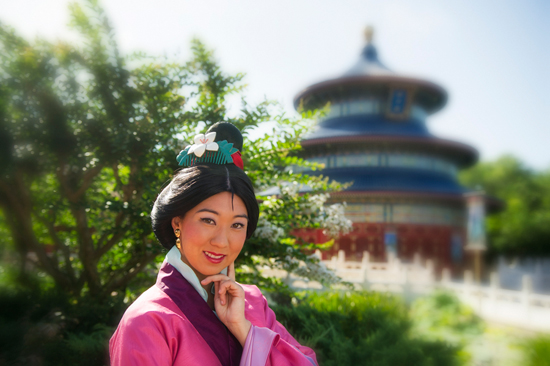 Meet Mulan in the China Pavilion at Epcot