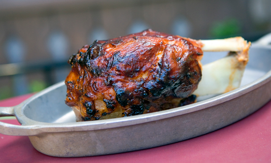New Savory Treat at Disneyland Park: Slow-Roasted Pork Shank