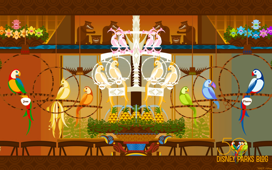 Celebrate 50th Anniversary of Walt Disney's Enchanted Tiki Room with Another Disney Parks Blog Wallpaper