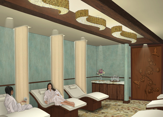 Senses, A Disney Spa at Disney's Saratoga Springs Resort