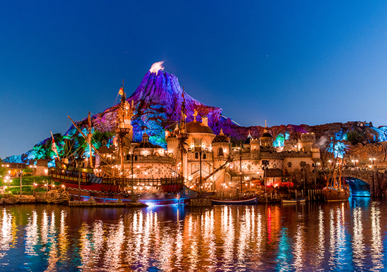 Disney Parks After Dark: Mysterious Island at Tokyo DisneySea