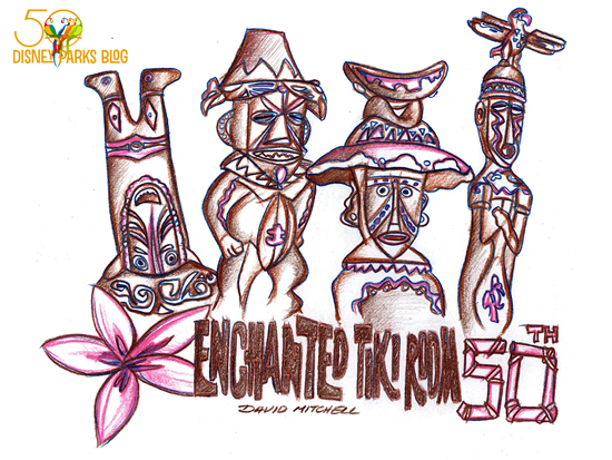 Walt Disney's Enchanted Tiki Room Wallpaper Winner!