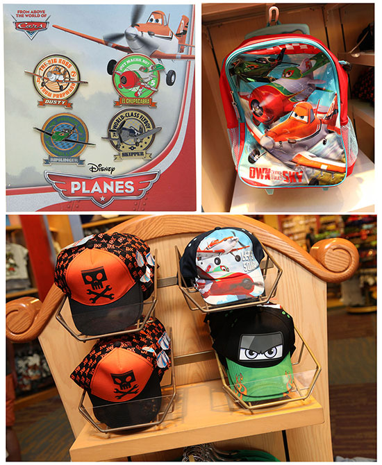 Disney 'Planes' Pin Set, Backpack and More Now Available at Disney Parks