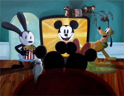 Movie Time with Mickey by Katie Kelly