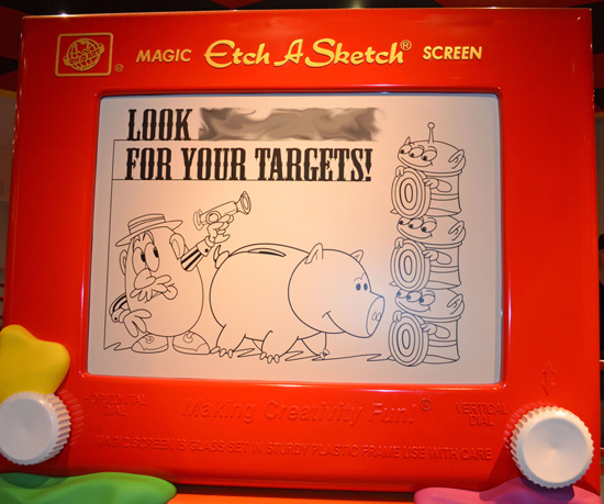 Finish that Disney Parks Sign: Finding Your Target at Toy Story Midway Mania!