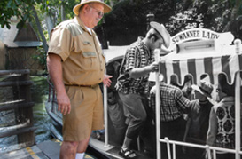 Then & Now: A Jungle Cruise Skipper at the Disneyland Resort