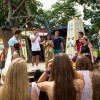 Kowabunga Dudes! Disney Channel Stars Check Out The New 'Teen Beach Movie' Dance Party